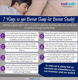 Sleep Advice for Students