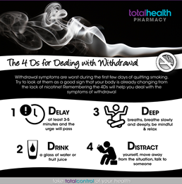 Dealing with Nicotine Withdrawal