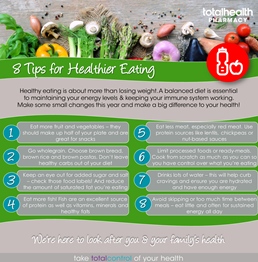 Healthy Eating Top Tips