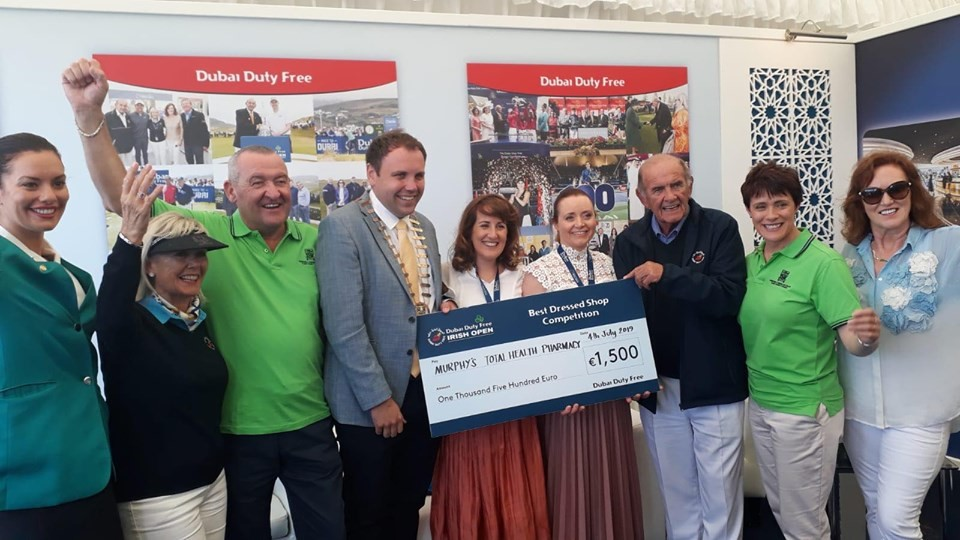 Murphy's totalhealth Pharmacy, Ennistymon  win at Dubai Duty Free Irish Open!!