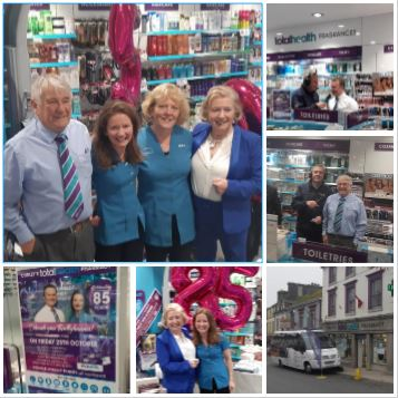 Curley's totalhealth Pharmacy celebrate 85 Years in business in Ballyhaunis, Co. Mayo!