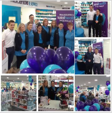 MacAuliffe's totalhealth Pharmacy, Castlebar, celebrate turning 21!