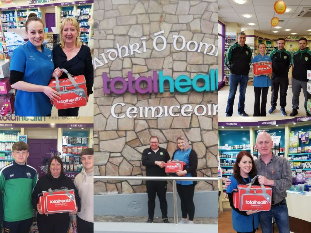 O'Donnell's totalhealth Pharmacy, Gweedore have been busy donating First Aid kits to the community